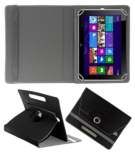 ACM ROTATING 360° LEATHER FLIP CASE FOR HP ELITE PAD 900 G1 TABLET STAND COVER HOLDER BLACK  available at amazon for Rs.189