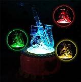 Kreative Kristall Lichter Musikinstrumente Acht-Boxen Harfe Hörner Boutique Kristall Spieluhr Kunststoff Bass Boxen Geburtstagsgeschenk Ornament , 2