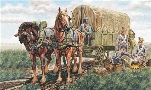 Italeri 6017S  - La guerra napoleónica Accesorios