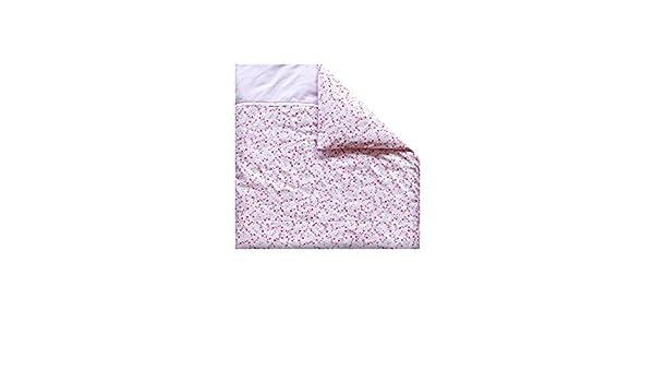 Little dutch 0901 kinderwagen kissenbezug pink blossom größe: 80 x