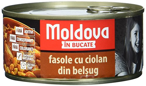 Moldava Schweinehaxe mit Bohnen Ciolan de porc cu fasole, 5er Pack (5 x 300 g)