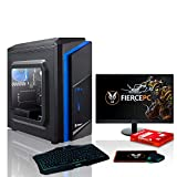 Fierce Gaming PC Bundle - AMD Ryzen 3 2200G 3.7GHz, AMD Vega 8
