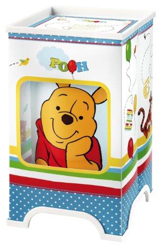 Vamos 63670 Lampe de Chevet LED Winnie The Pooh 13 x 13 x 22 cm