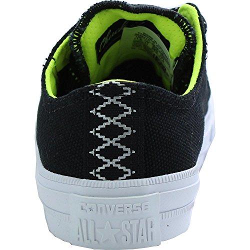 Converse Chuck Taylor All Star II Shield Canvas Junior Black Textile Trainers Black