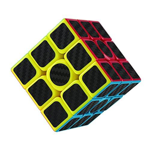 PovKeever puzzle 3D Cubo Mágico Inteligencia Cubo Rompecabezas y Easy Turning Súper Duradero para Brain Training Game para Regalo Niños de Adulto (1PC)
