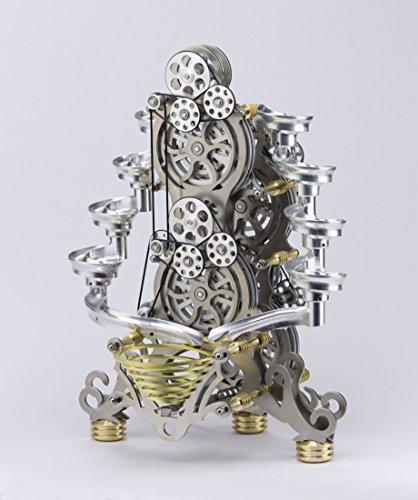 Böhm Stirling Technik Heißluft/Stirling Modell Wissenschaftliches Spielzeug HB-ROLL-2 , Fertigmodell, Natur