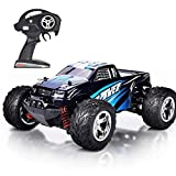 HomeXin RC Cars Rock Offroad Racing Fahrzeug Crawler Truck 2,4 Ghz 4WD High Speed 1:20 Radio Fernbedienung Buggy Elektro Fast Race Hobby- Blau
