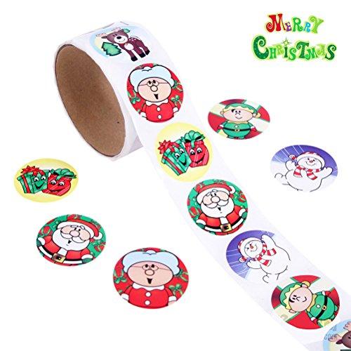Rosenice feliz Navidad pegatinas rollo Pegatina Pared