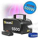 Best Smoke Machines - beamz Mini Compact s-500 Watt Smoke Fog Machine Review