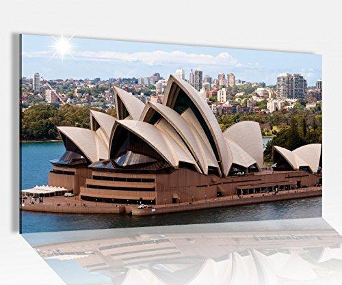 Acrylglasbild 80x50cm Opernhaus Sydney Australien Glasbild Bilder Acrylglas Acrylglasbilder 14A3471, Acrylglas Größe4:80cmx50cm