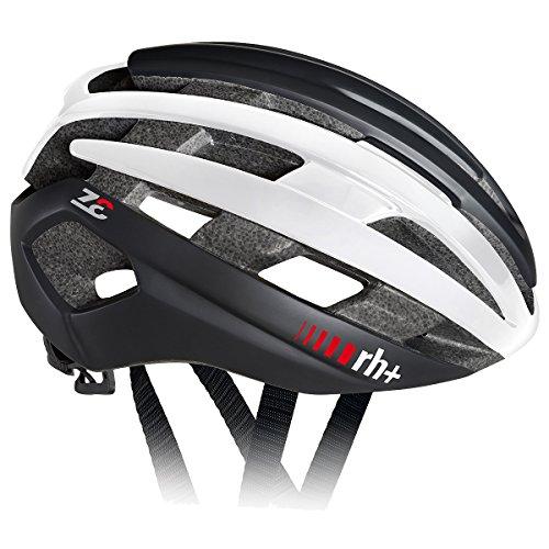 Zero Rh+ Z Epsilon Casco Bici, Matt Black/Shiny White (54-58)
