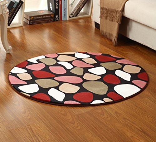 SESO UK- Silla para niños simple alfombra alfombra redonda antideslizante para dormitorio sala de estar ( Color : B , Tamaño : 160cm )