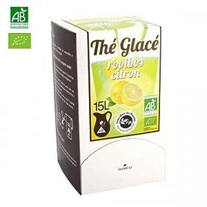 Thé glacé Rooibos citron biologique
