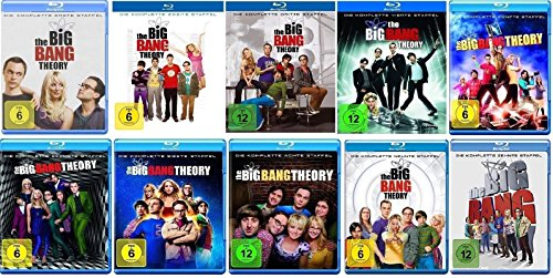 Produktbild The Big Bang Theory Staffel 1-10 (1+2+3+4+5+6+7+8+9+10) [Blu-ray Set]