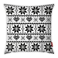 Mon Desire Decorative Throw Pillow Cover, Multi-Colour, 44 x 44 cm, MDSYST2415