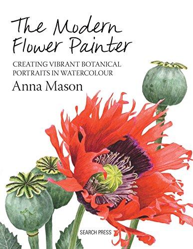 The Modern Flower Painter Cover Image