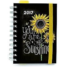 Grupo Erik Editores Lily & Val - Agenda 2017 Semana Vista, 15.5 x 19 cm