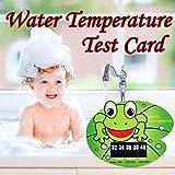Gaddrt Mignon animal bébé baignoire thermomètre bébé bain température eau test...