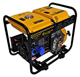 Générateur 6 Kw -- Diesel - Groupe électrogène - Démarrage Électrique / Manuel