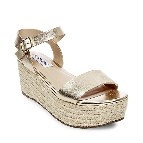 536410b6d1f Steve Madden Womens Busy Busy Gold Size: 5.5 UK