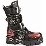 New Rock M.195-S1 Metallic leather boots