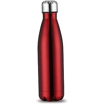 1L Edelstahl Bürste Trinkflasche Isolierflasche Wasserflasche Thermosflasche