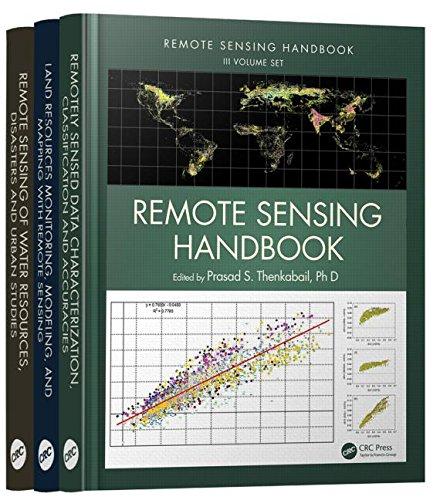 Remote Sensing Handbook - Three Volume Set