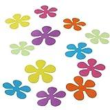 Premium Antirutsch-Blumen für Wanne oder Dusche Anti-Rutsch Badewannen-Matte Saugmatten bunt