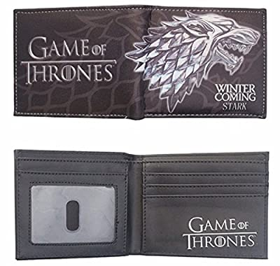 Game Of Thrones Faux Leather Mens Wallet Card Holder House of Stark