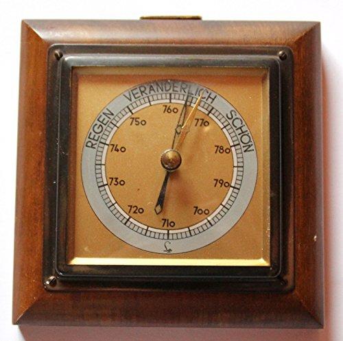 Antiquitäten - antikes Barometer Art Deco von Lufft