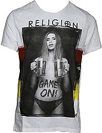 Religion - T-shirt - Homme blanc Weiß