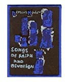 Official Depech Mode Songs of Faith and Devotion Sew On Patch (10 x 7 cm)