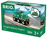 Toy - Brio 33214 - Batterie-Frachtlok