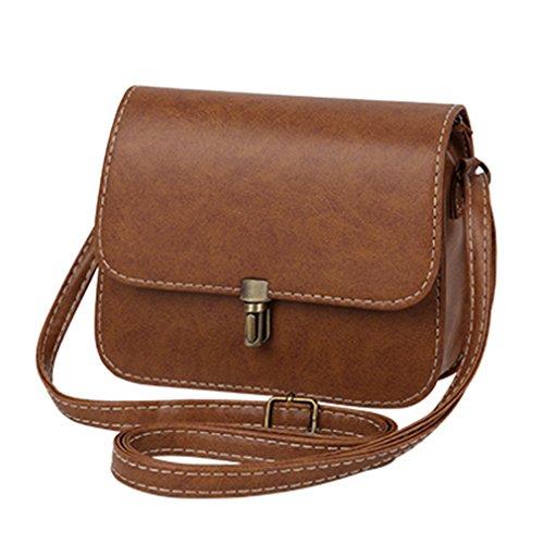 ANANXILA Mini Handtasche Schultertasche Frauen, Einkauf Geldbörse Crossbody Taschen 15cmx19cmx6cm Khaki (Aldo-computer)