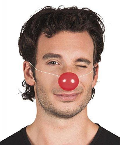 Rote Kleine Kostüm - Boland Clown-Nase Kostüm-Zubehör klein rot Einheitsgröße