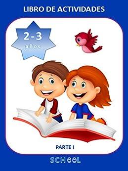 Libro de actividades para niños de 2-3 años. Parte I
