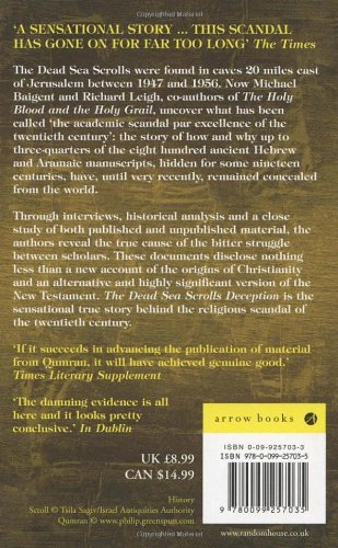 an analysis of the dead sea scrolls