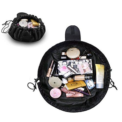 EC. Teak Make-up-Organizer Acryl Schmuck & Kosmetik Aufbewahrung Display Boxen mit Diamant Form Griff ET12 Farblos -