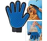 Takestop Fellpflegehandschuh für Haustiere, Bürste für kurz- und langhaarige Hunde, Katzen, Kaninchen, Pferde, Massagehandschuh - 2