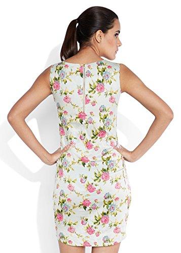 Park Avenue Woman Cotton A-Line Dress (PWEA00305-G3_Medium Grey_XL)