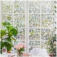 غشاء زجاجي شفاف ثلاثي الأبعاد بغشاء زجاجي للنافذة للخصوصية للمكتب المنزلي