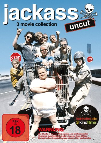 Jackass - 3 Movie Collection (3 Discs, Uncut)