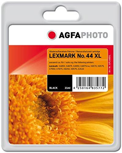 Preisvergleich Produktbild AgfaPhoto APL44BXL passend für Lexmark X9350, 540 Seiten, ISO/IEC 24711, schwarz