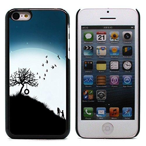 Graphic4You I Will love you Design Harte Hülle Case Tasche Schutzhülle für Apple iPhone 5C Design #16