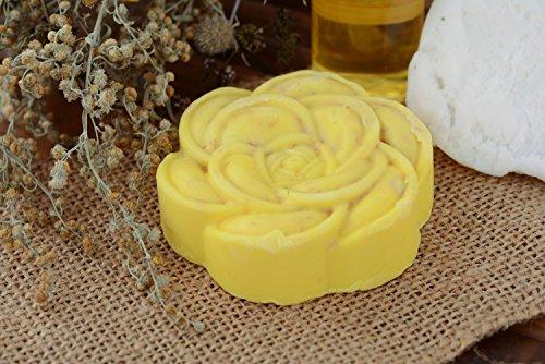 Jabon natural con miel y palomitas de avena