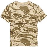 RTC US Military Style T-Shirt - British Desert Camouflage