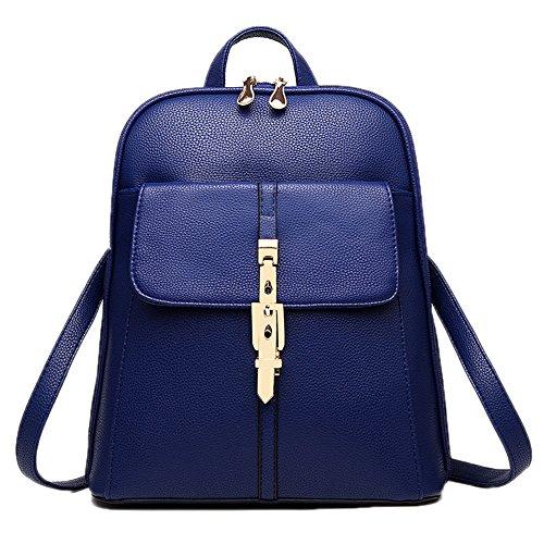 Style Korea Blau Schultertasche Schule Damen Mädchen Schulter DELEY Rucksack Tasche Tote Handtasche pHqwxf6Uf