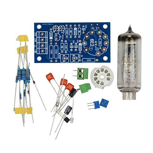 gfjfghfjfh 6E2 Röhrenvorverstärker Audio Board VU Leistungspegel-Treiberplatine Volume Anzeige Bile Preamp DIY KIT Fertigprodukt