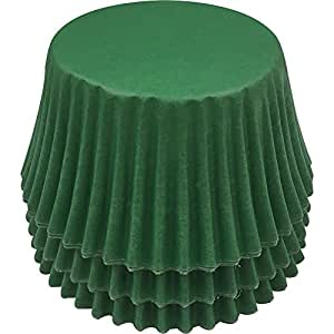 Pack of 36 Green cupcake cases by CDA Products 201-913