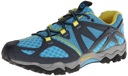 Merrell Grassbow Air Trail Running Shoe Blue/Navy